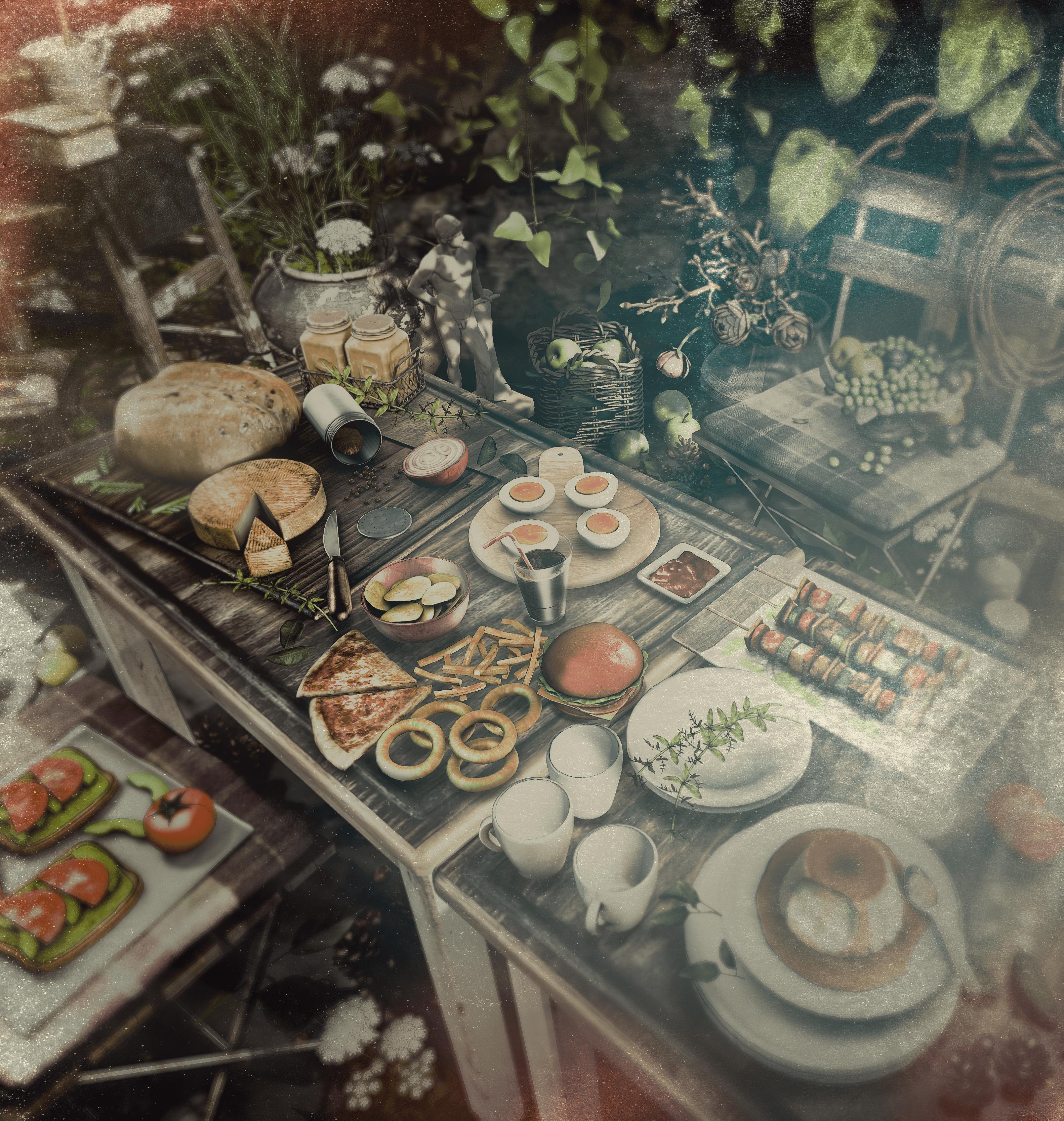 Hungry? gacha, by Ionic